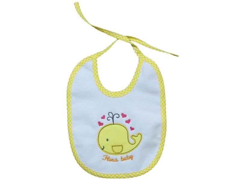 4010 Wholesale whale printed bibs for baby products 6 pieces in package