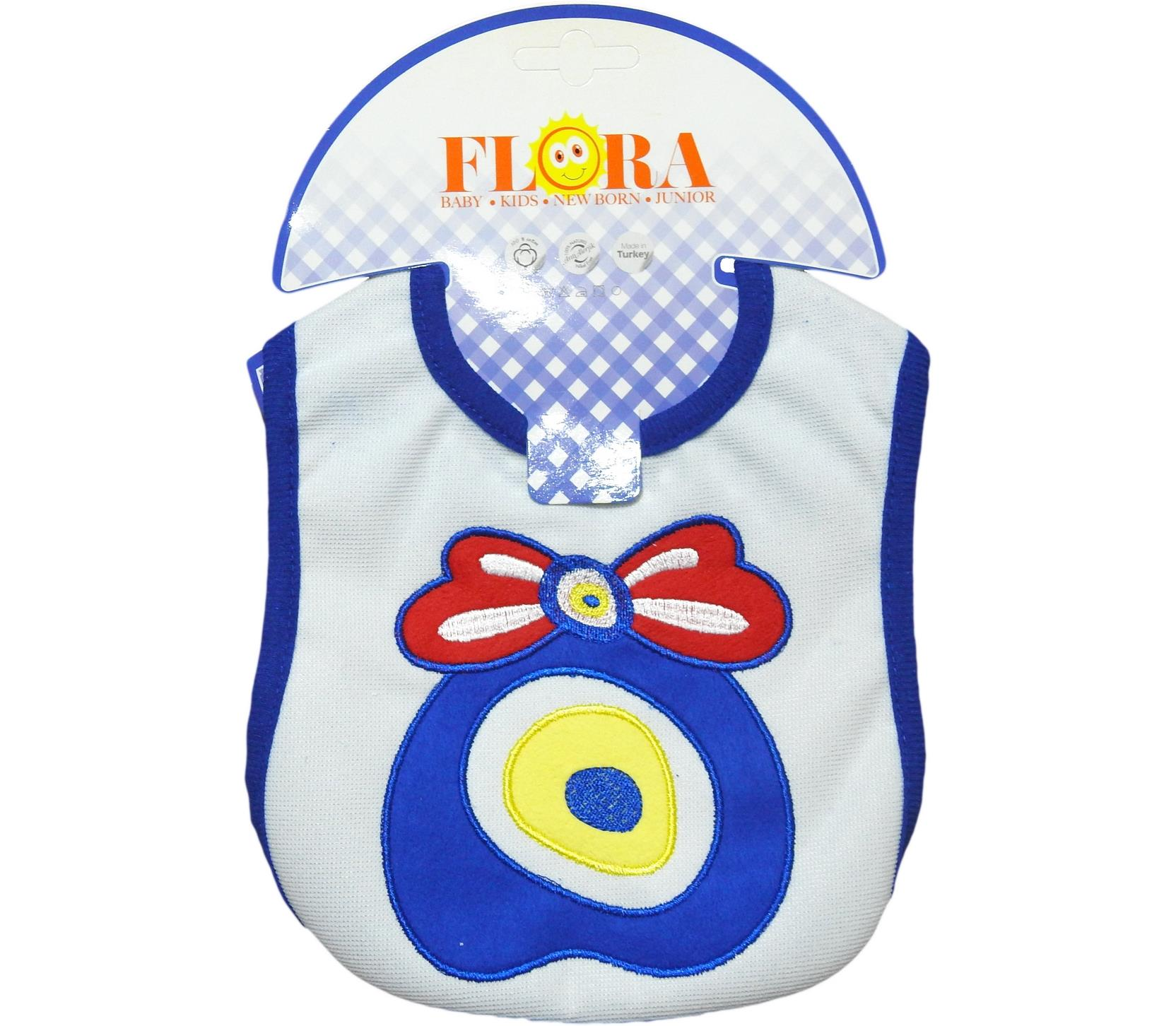 2001 Wholesale evil eye printed bibs for baby products 6 pieces in package