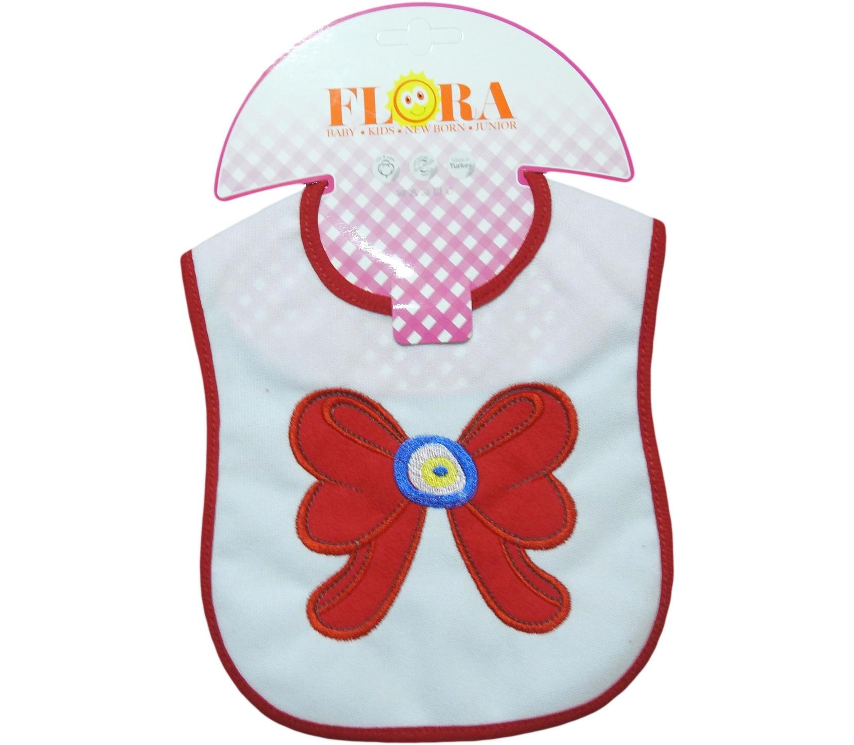 2002 Wholesale ribbon printed bibs for baby product 6 pieces in package