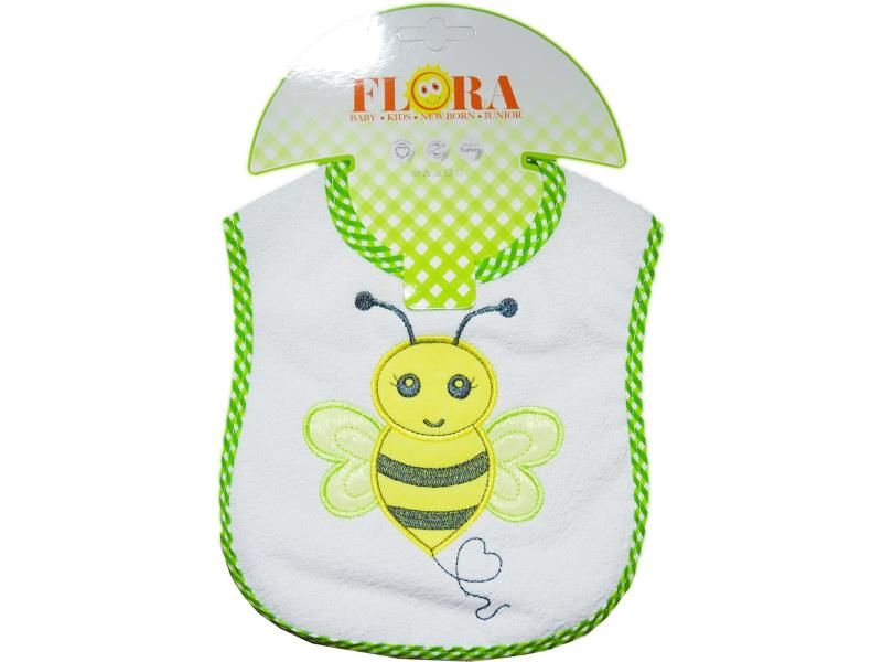 2008 Wholesale bee pinted bibs for baby products 6 pieces in package