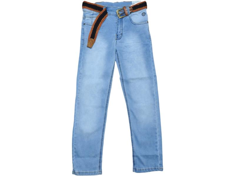 1102 Wholesale faded denim jeans pant for boy children clothes (9-10-11-12 age)