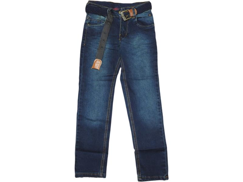 1202 Wholesale faded denim jeans pant for boy kids clothes (9-10-11-12 age)