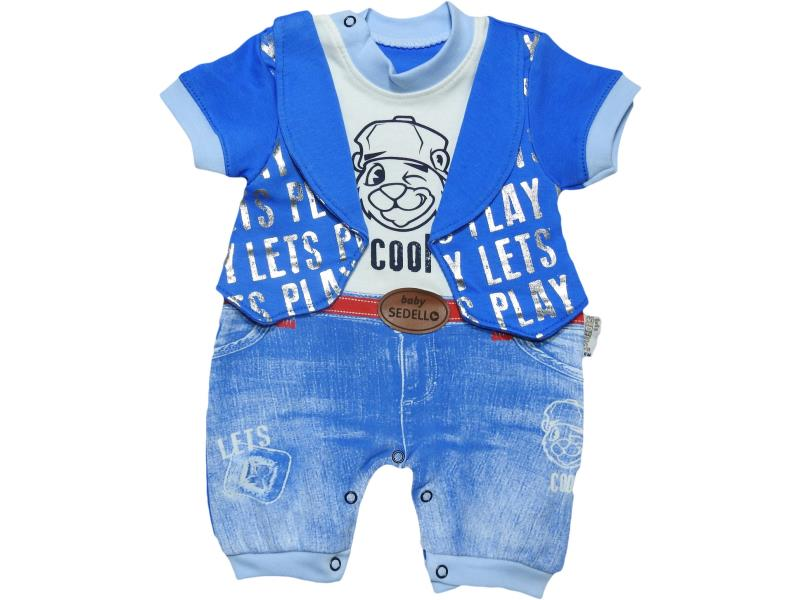 1086 Wholesale romper for boy baby clothes (3-6-9 month)
