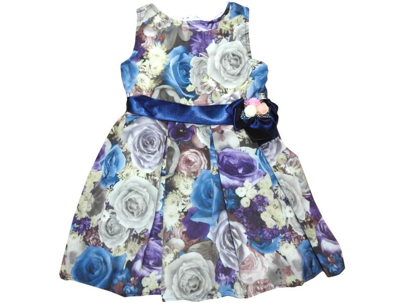 Children's dress with roses,summer, for girls 5-6-7-8 years