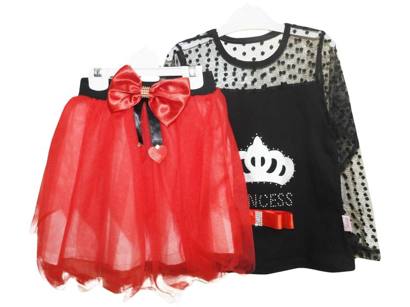 237 Two piece set for girl children 4-6-8 age