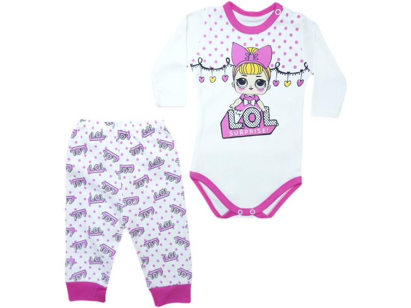 wholesale baby sets deuces, bodysuits with sliders, for girls for 3-6-9 months