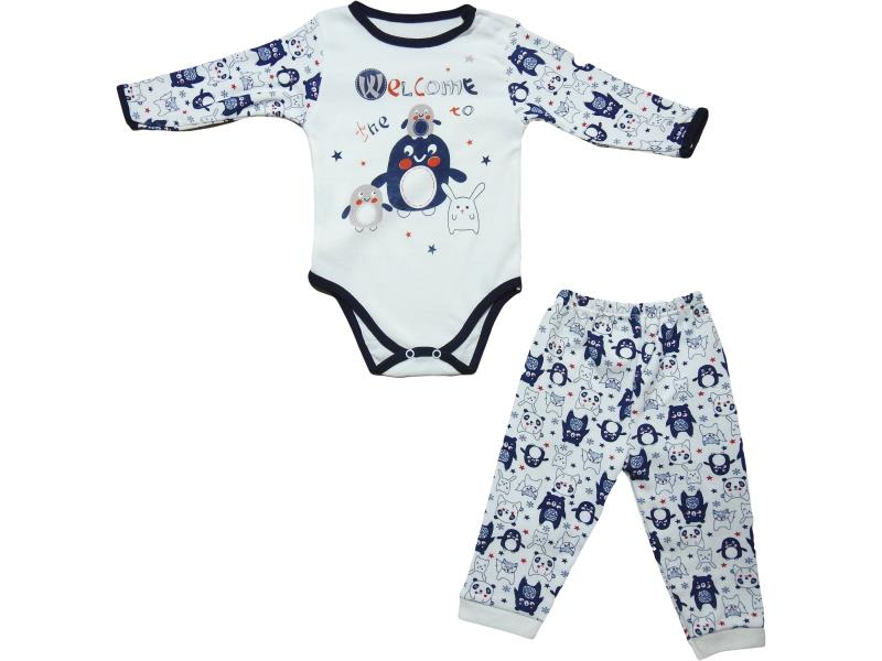 4040 set for baby girls and boys, bodysuits with buttons + sliders, for kids 3-6-9 months