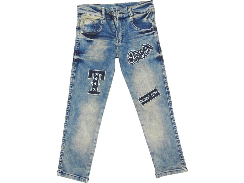 Wholesale kids denim pants for boys 5-6-7-8  age