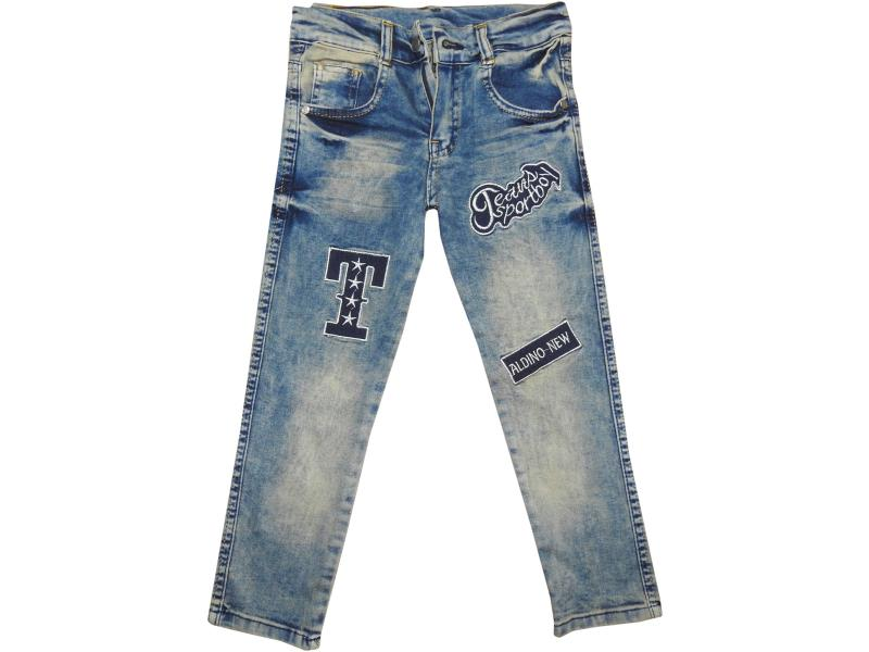 Wholesale kids denim pants for boys 9-10-11-12 age