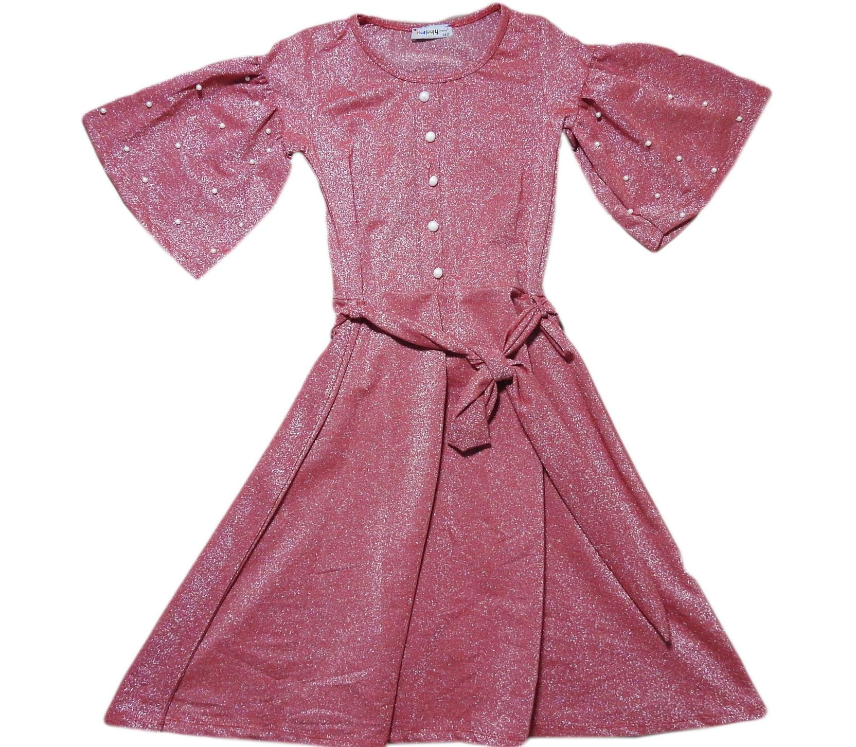 2625 Wholesale baby casual dress for girls at 10-12-14-16 age