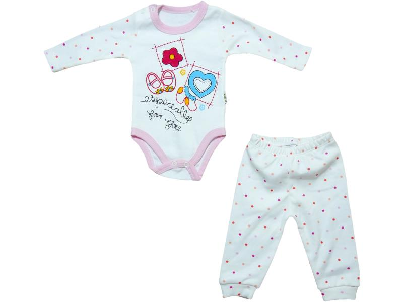 3108 wholesale set for newborns,bodysuit with buttons with print shoes+sliders, for girls 3-6-9 months