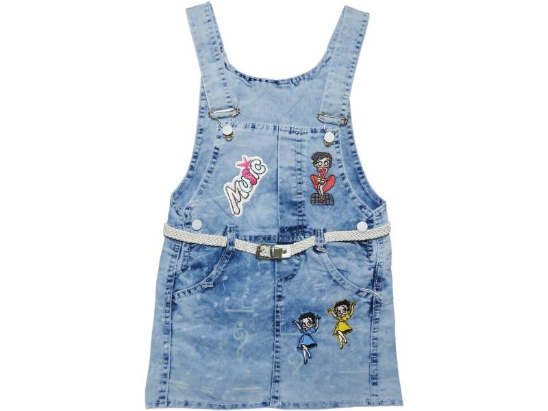 927 Wholesale baby denim skorts,girls 2-3-4-5 years