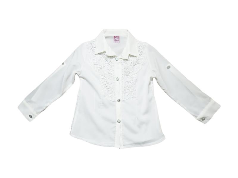 8038 Wholesale children's blouses school for girls on  5-6-7-8 age