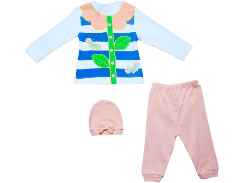 297 Wholesale children's set-two with a hat for girls for 9-12-18 months