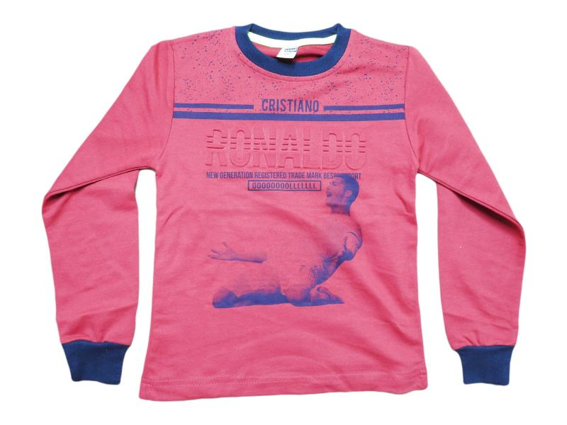 5451.0 Wholesale children's t-shirt with Ronaldo print, for boys 5-6-7-8-9 age