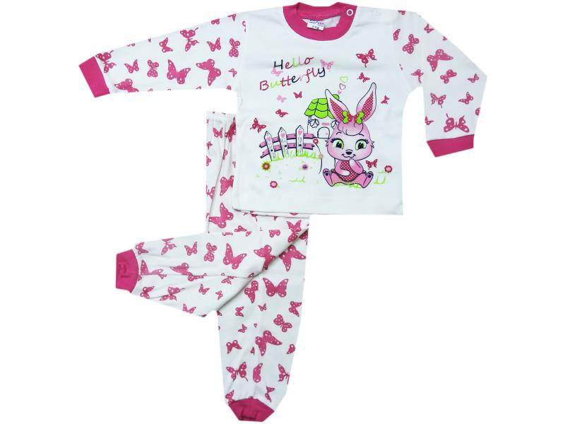 0106 Rabbit printed set for babies 12-24 month