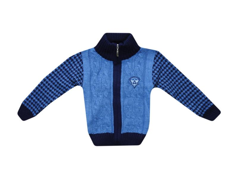287 Wholesale cardigan for boys sporting print 1-2-3 years