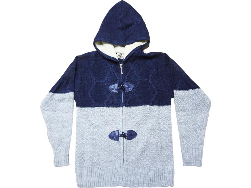 8415 Hooded cardigan for boy children  10-12-14 age