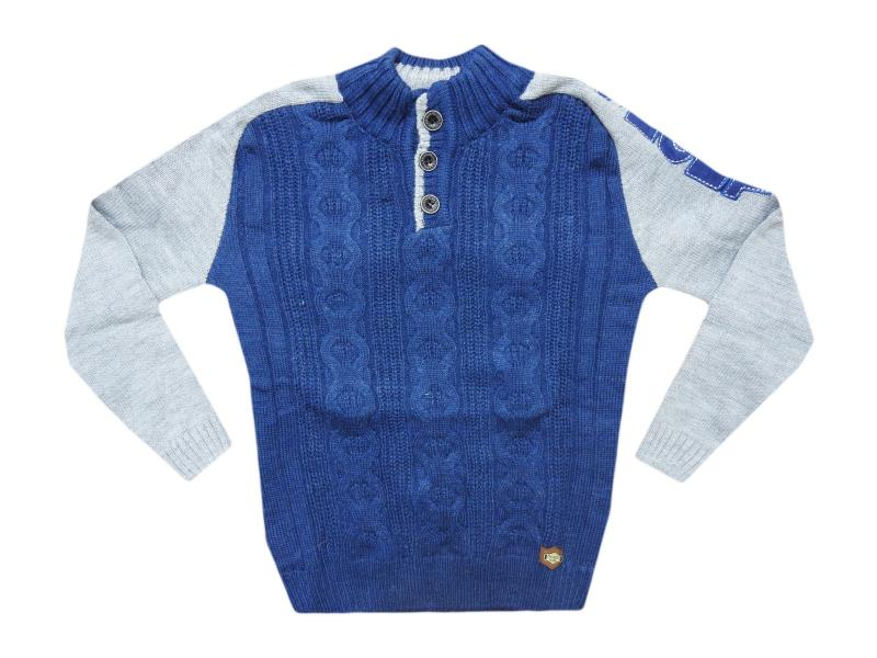 507 sweater embroidered for boy babies 4-6-8 age