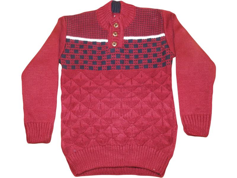 2010 Wholesale button detalied sweater for boy children  3-4-5 age