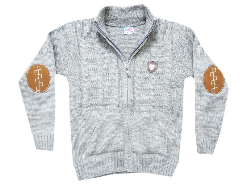 555 earm patched sweater for boy babies  4-6-8 age