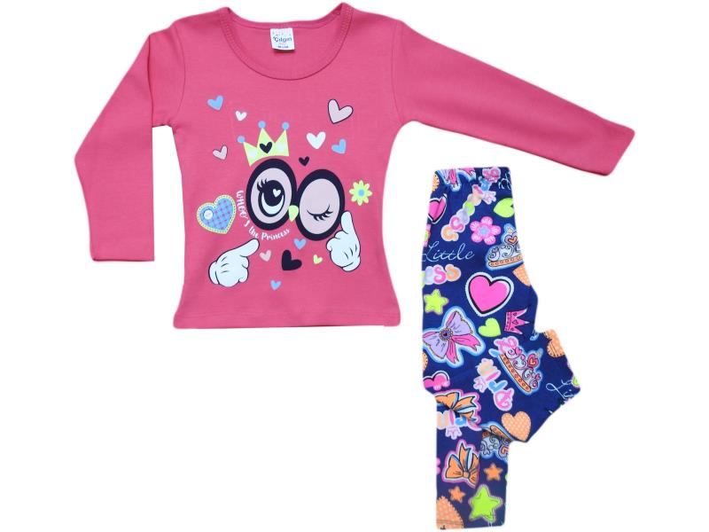 125 two piece (wink) desing set for girl babies  9-12-18 months