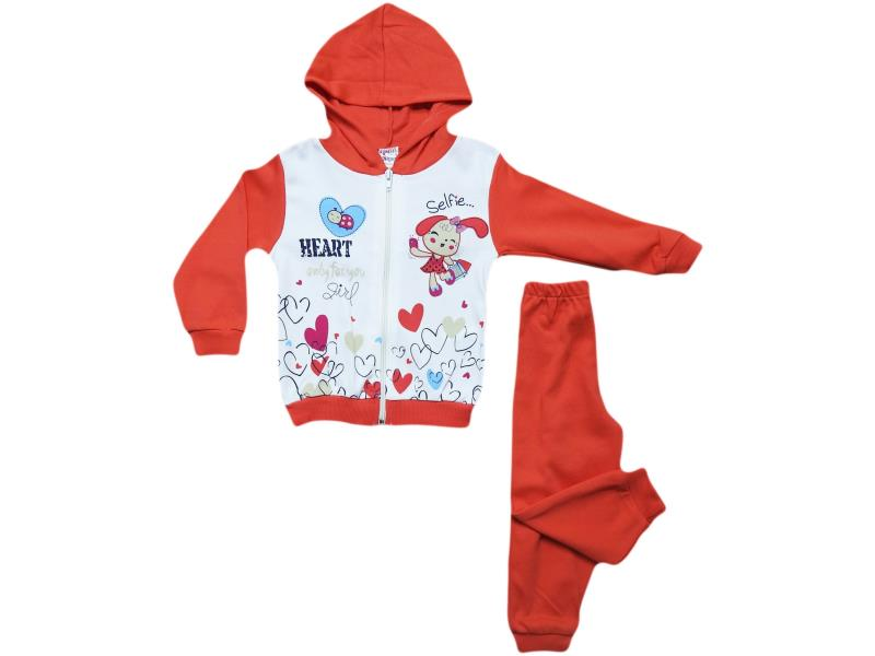 310 two piece heart,rabbit  desing for girl babies  9-12-18 months