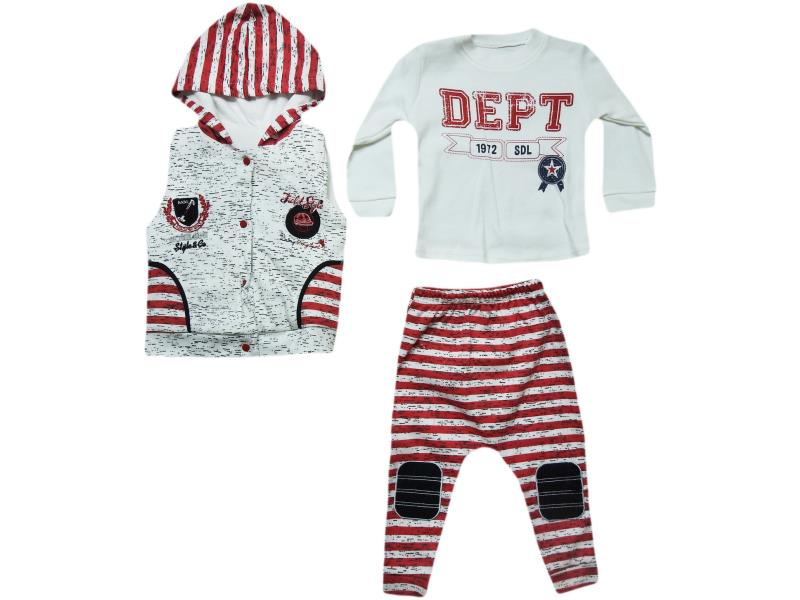 2009 inflatable vest kit for boy babies. DEPT printed  6-9-12 months