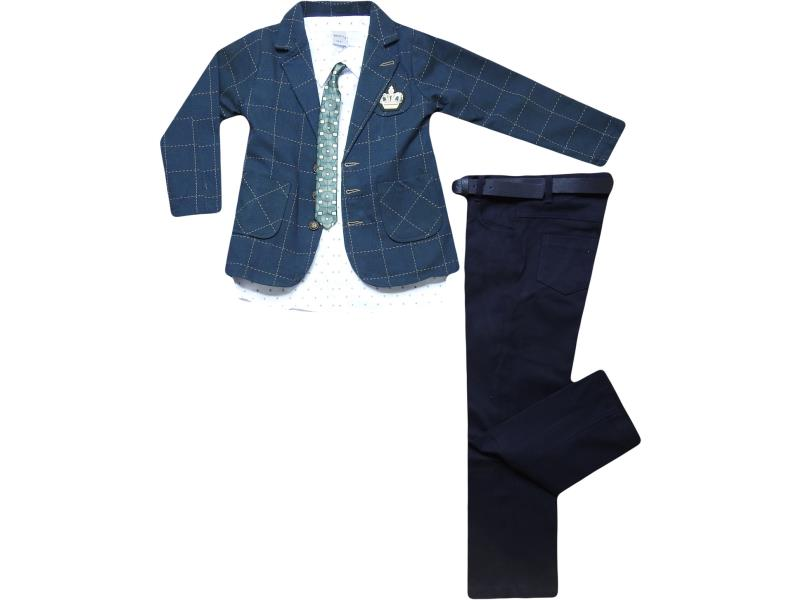 3306 triple set with tie for boy babies 5-6-7-8 age