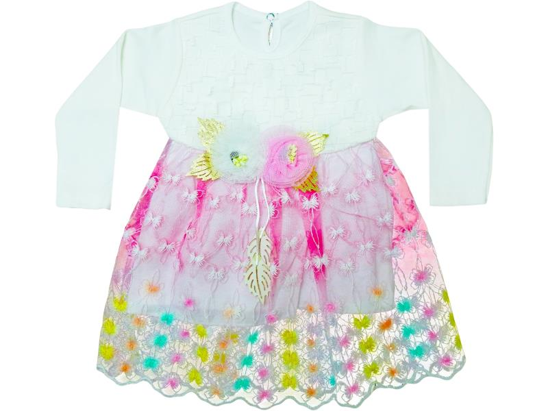 724 Wholesale dress for girl babies  6-12-18 month