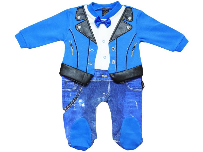 108 leather detailed seasonal set for boy babies  3-6-9 month