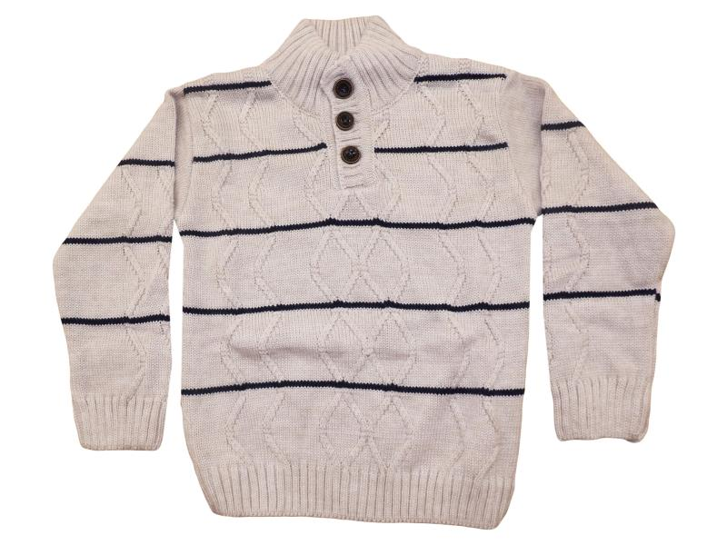 117 sweater striped for boy babies 4-6-8 age