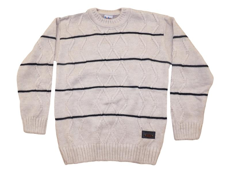 116 sweater striped for boy children 4-6-8 age