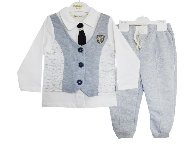 4800 Two piece vest set for babies  1-2-3 age