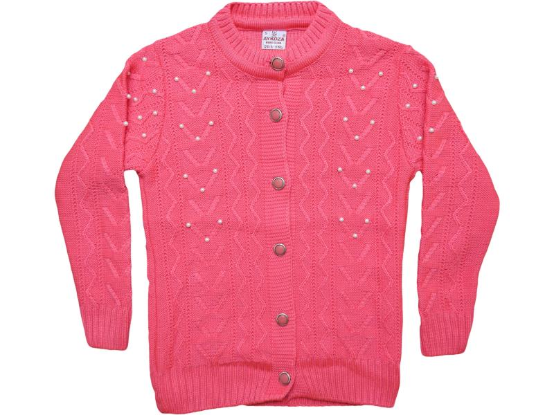 659 pearl stone detailed sweater for girl babies 10-11-12 age