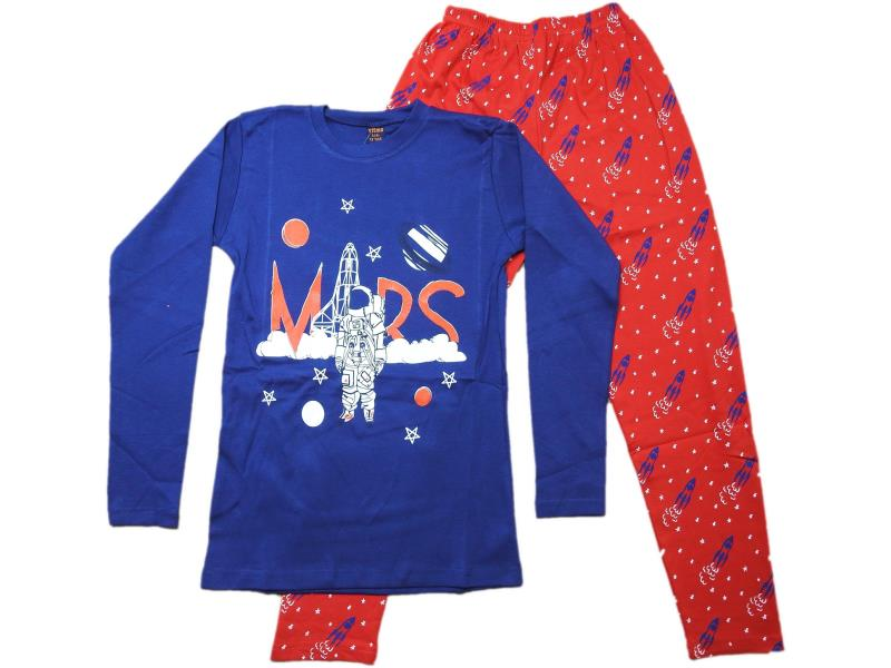 730 Wholesale children's pajamas with print mars, for boys 13-14-15 years