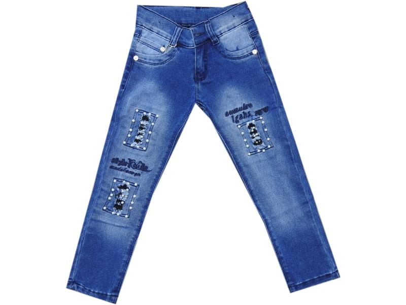 7933 jeans for girl children  5-6-7-8 age