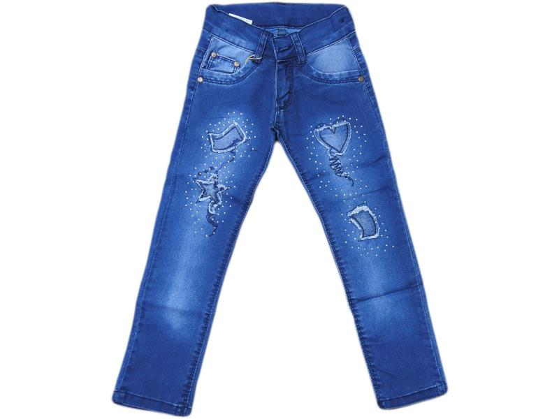 7934 jeans for girl  children 5-6-7-8 age