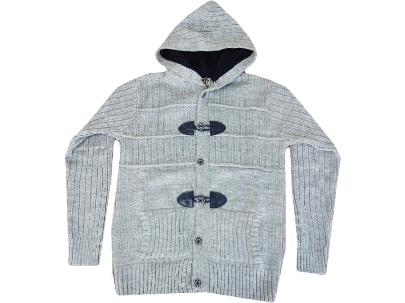 8410 Hooded cardigan for girl children  10-12-14 age