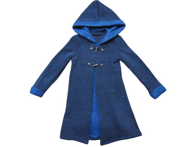 8138 wholesale children's cardigan with hood, for girls 1-2-3-4 years