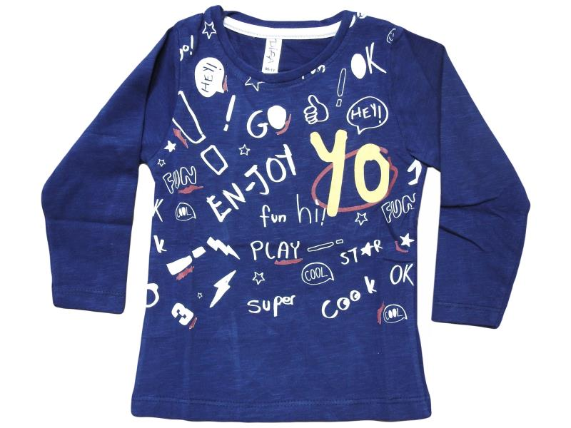 2808 T shirt ENJOY embroidered for baby 1-2-3-4 age