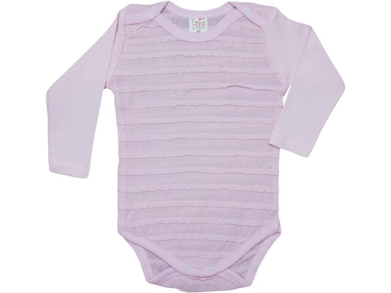 71110 wholesale baby bodysuit long sleeve for babies 3-6-9-12-18 month