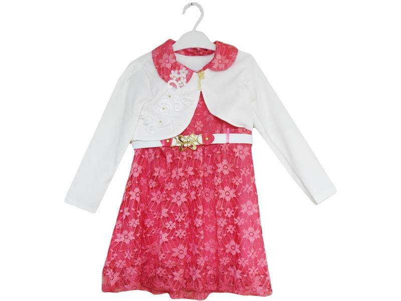 303 wholesale baby dress with Bolero, for girls 2-3-4-5 years