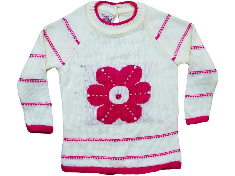 218 wholesale jumper for girls kids with flower gemmiferous 1-2-3 age