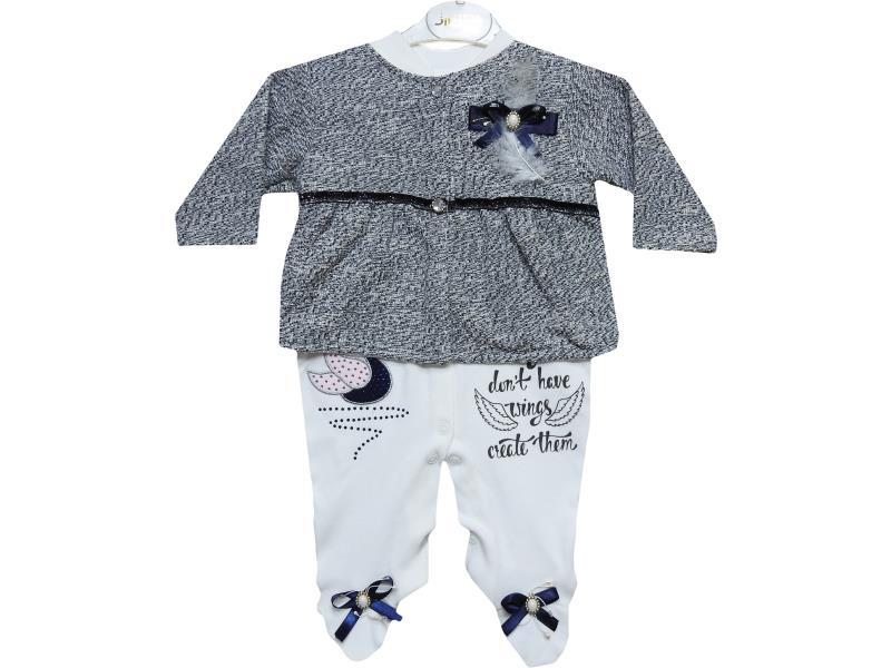 wholesale children set,Romper,sweater for baby girls at 3-6-9 months