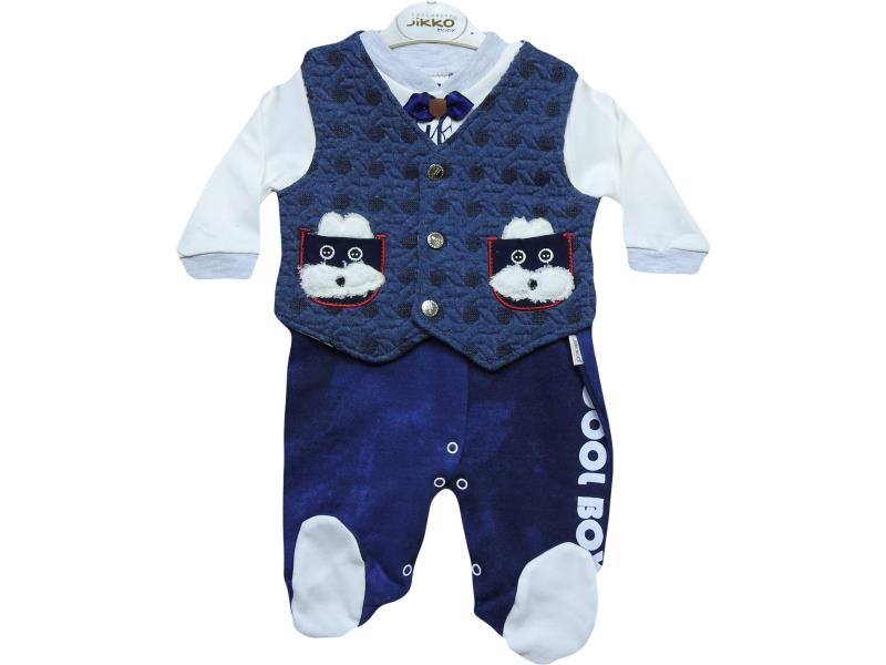 606 wholesale set newborn boys Romper with vest,for infant 3-6-9 months