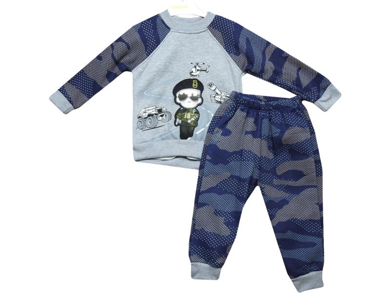 5078 camouflage tracksuit for baby boys soldier embroidered 6-12-18-24 month