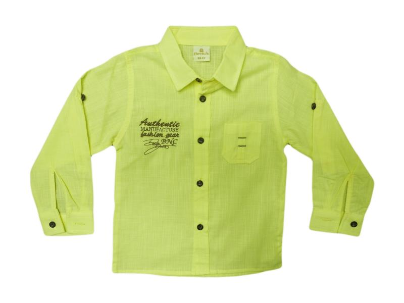 1493 shirt collar for embroidered boys 1-2-3-4 age