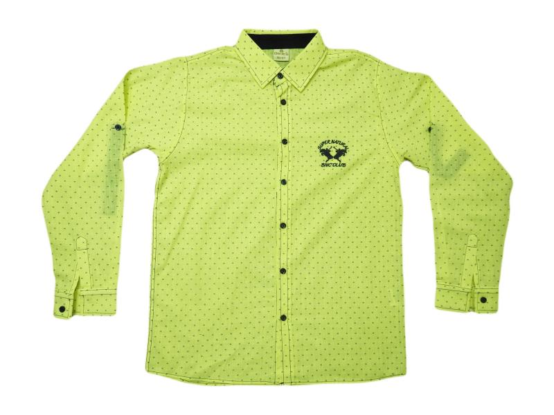 1480 Wholesale cheap and quality shirt for children  9-10-11-12 age