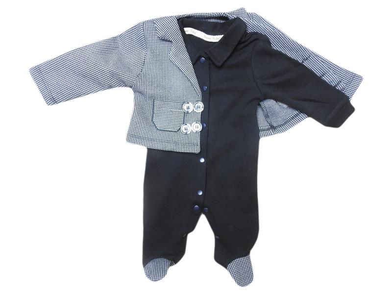 5005  Wholesale cheap and quality overalls for boy babies 3-6-9 month